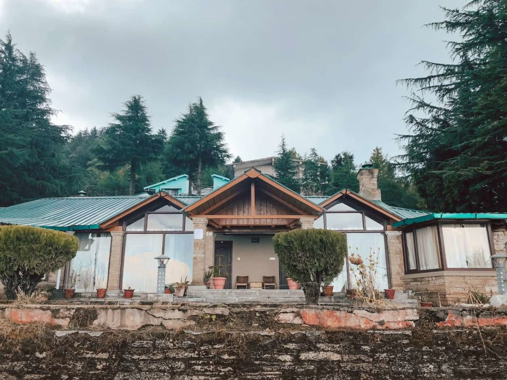The inspection Bungalow in Mukteshwar